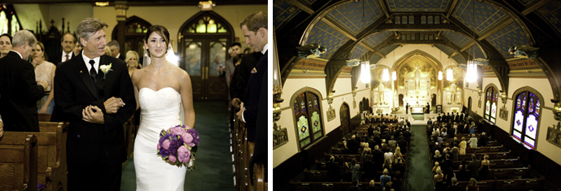 The ceremony took place at the beautiful historic St. Peters church in Pt. Pleasant, NJ