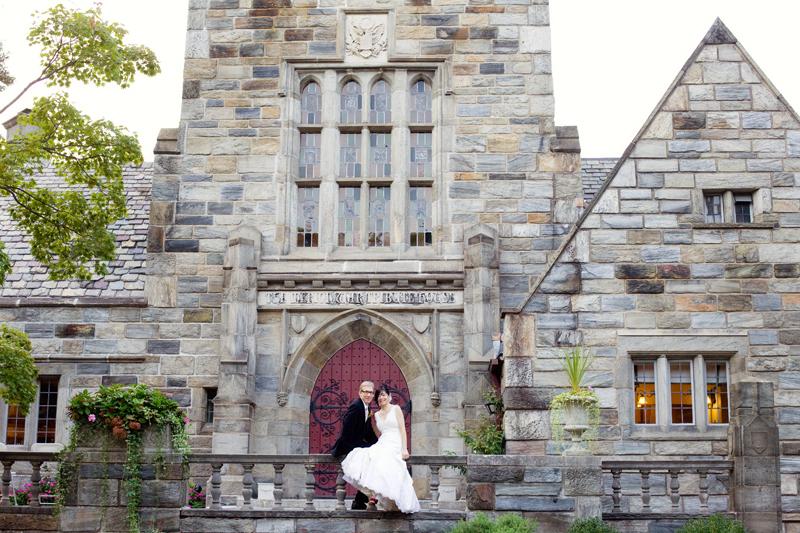 Station house wedding
