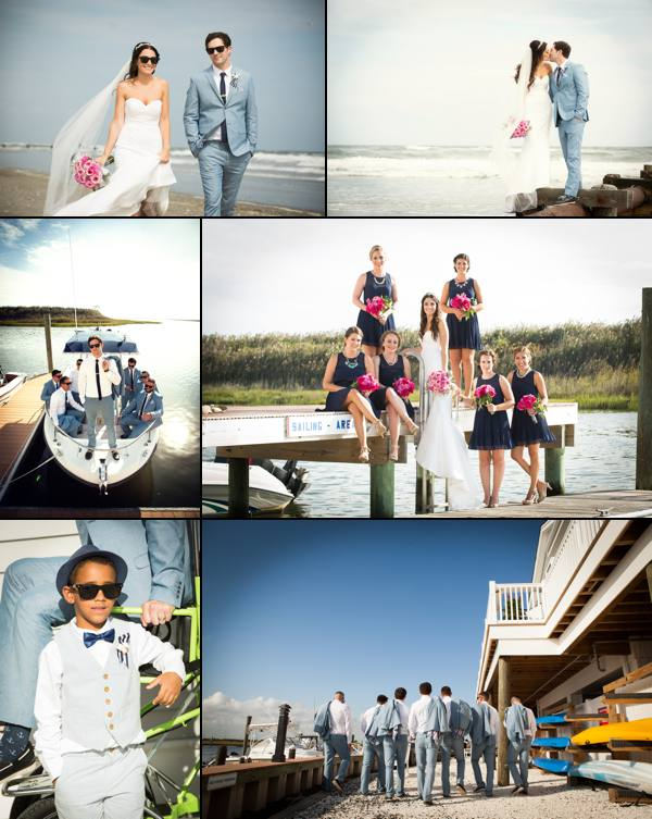 Sea Isle Yacht Club Beach Wedding